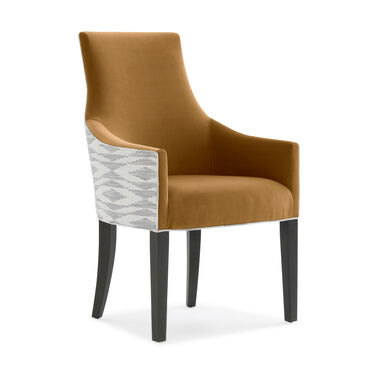 ADA ARM DINING CHAIR, VIVID - CAMEL, hi-res