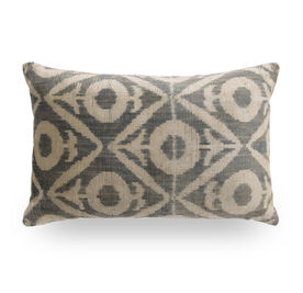 IKAT FOULARD THROW PILLOW, , hi-res