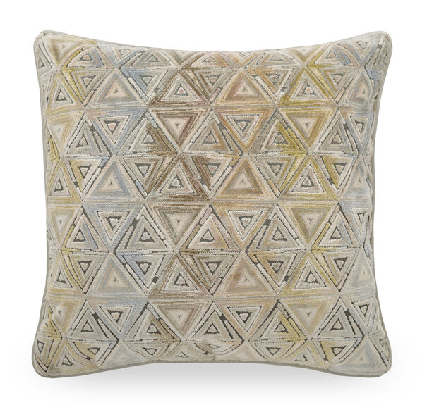 22 IN. X 22 IN. DOWN ACCENT PILLOW, SAXTON - SPA, hi-res