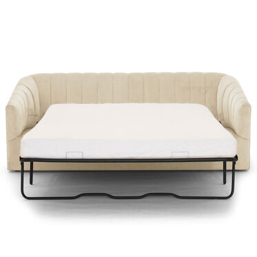 LANDRY CHANNEL TUFTED SLEEPER, PIPPIN - CREAM, hi-res