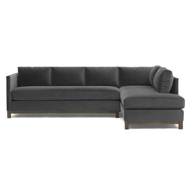 CLIFTON LEFT SECTIONAL, VIVID - CHARCOAL, hi-res