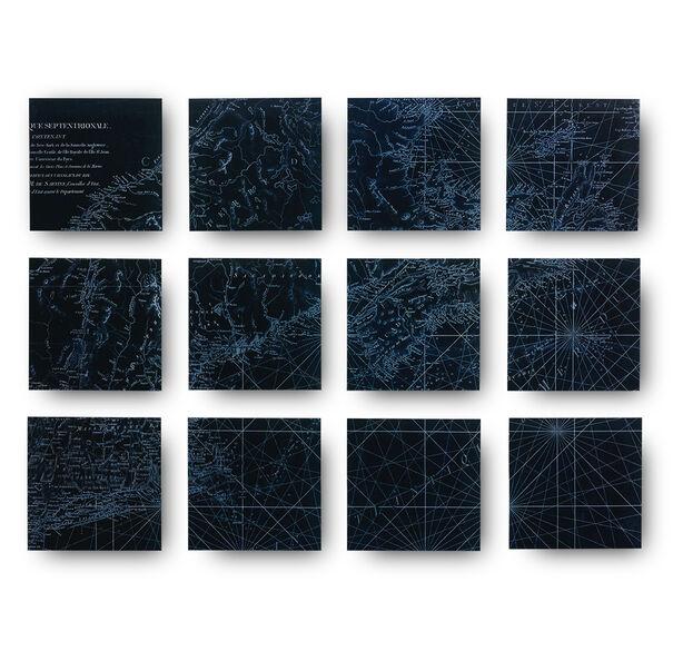 NEW ENGLAND VINTAGE MAP WALL ART, , hi-res