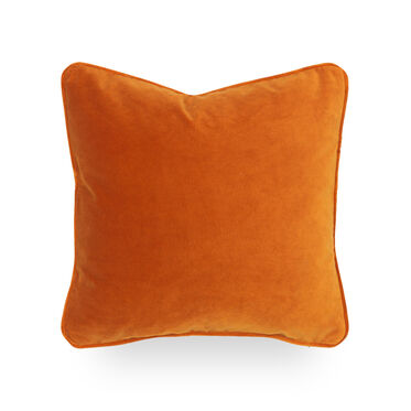 17 IN. SQUARE THROW PILLOW, VIVID - BLOOD ORANGE, hi-res