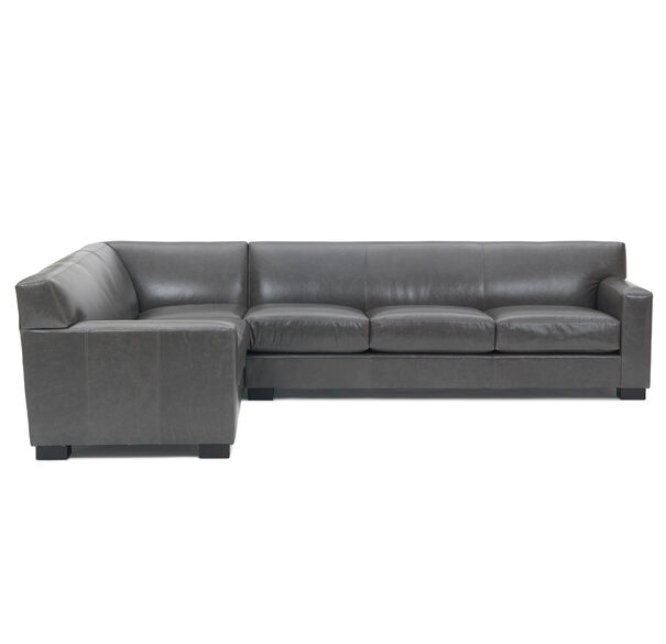 JEAN LUC RIGHT LEATHER SECTIONAL, TUSCANY - GREY SLATE, hi-res