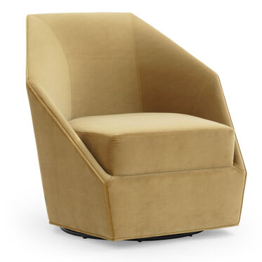 JEWEL FULL SWIVEL CHAIR, VIVID - CAMEL, hi-res