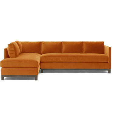 CLIFTON RIGHT SECTIONAL, VIVID - BLOOD ORANGE, hi-res