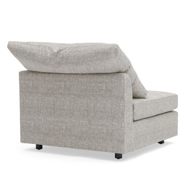 BIG EASY ARMLESS CHAIR, COSTA - SILVER, hi-res