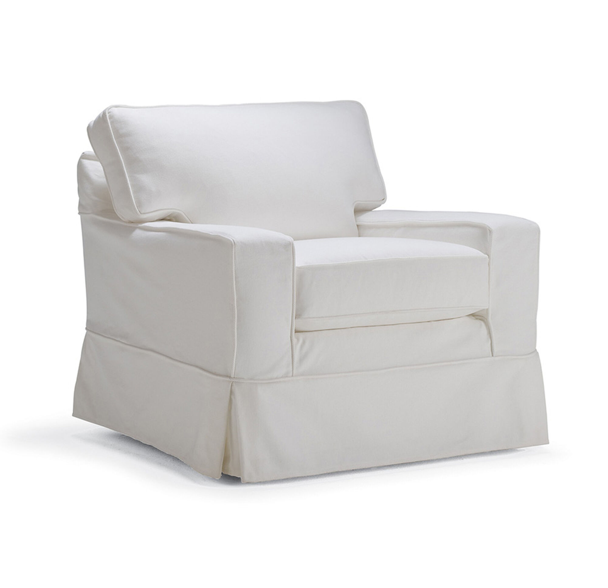ALEX II SWIVEL GLIDER CHAIR SLIPCOVER