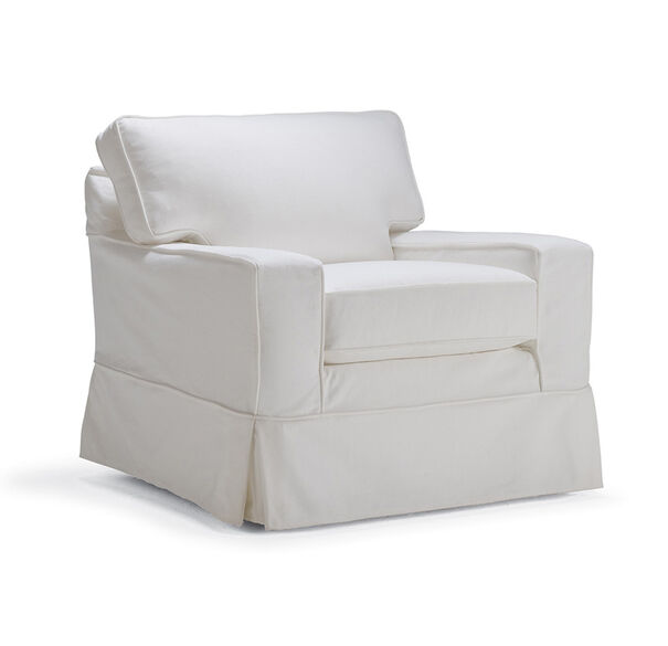 ALEX II SWIVEL GLIDER CHAIR SLIPCOVER, , hi-res