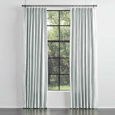 LEGACY BASIC DOUBLE PANEL SINGLE PLEAT, LEGACY - TRANQUIL BL, hi-res