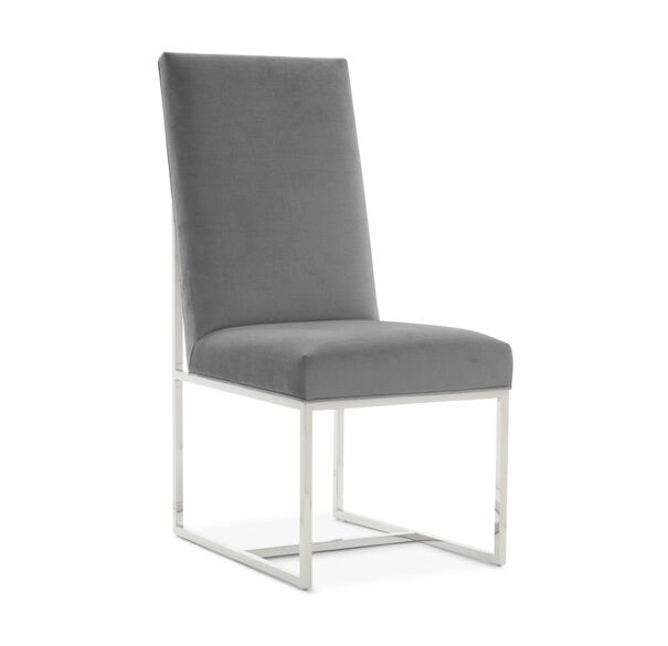 GAGE TALL SIDE  DINING CHAIR, PIPPIN - CHARCOAL, hi-res