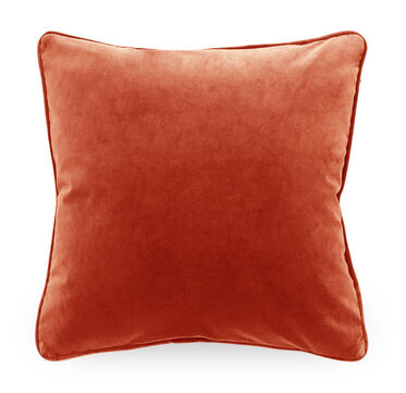 21 IN. SQUARE THROW PILLOW, VIVID - VERMILION, hi-res
