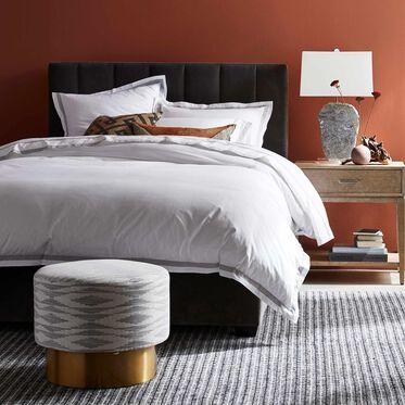 BUTLER CHANNEL TUFTED PLATFORM BED, BOULEVARD - GRAPHITE, hi-res