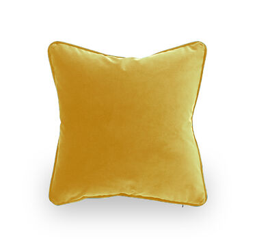 17 IN. SQUARE THROW PILLOW, VIVID - SAFFRON, hi-res
