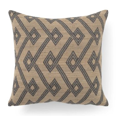 "TUSSAH SILK AND WOOL 20"" X 20"" ACCENT PILLOW, , hi-res"