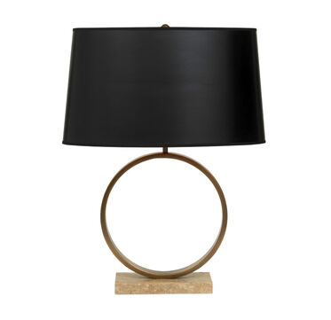 MARCO TABLE LAMP - AGED BRASS, , hi-res