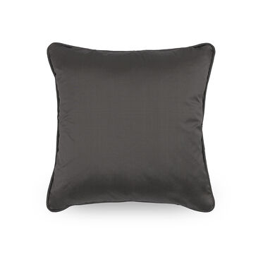 17 IN. SQUARE THROW PILLOW, VIVID - CHARCOAL, hi-res