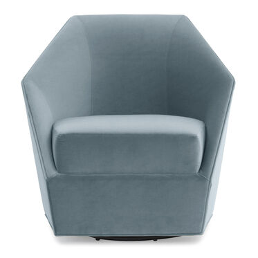 JEWEL FULL SWIVEL CHAIR, VIVID - AZURE, hi-res