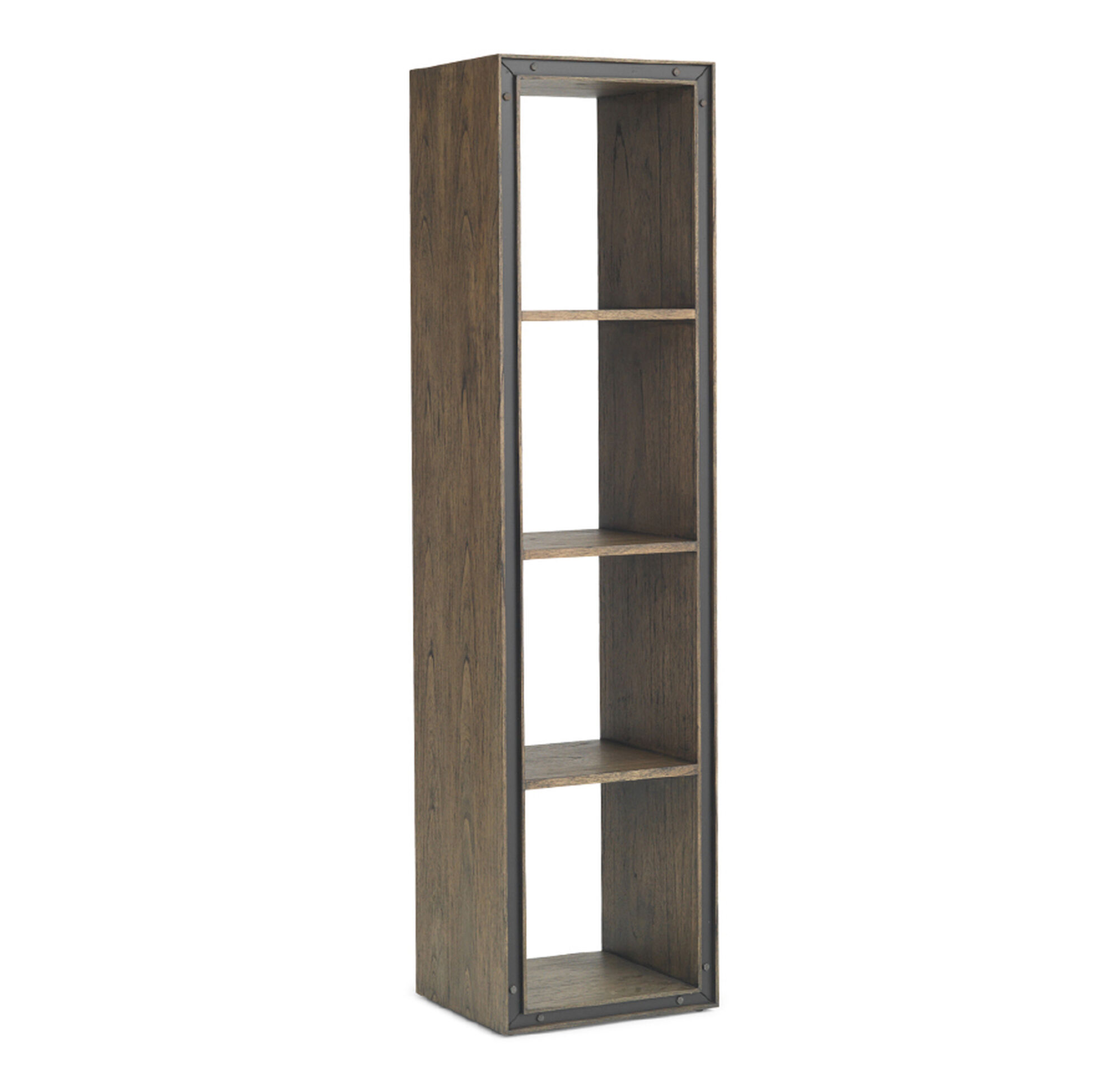 painted aspen tone bookcase two small ebay city low main oak grey sage