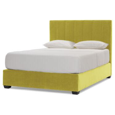 BUTLER CHANNEL TUFTED PLATFORM BED, BOULEVARD - CHARTREUSE, hi-res