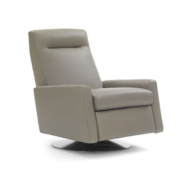 TILTON ELECTRIC LEATHER RECLINER, VANCE - DRIFTWOOD, hi-res