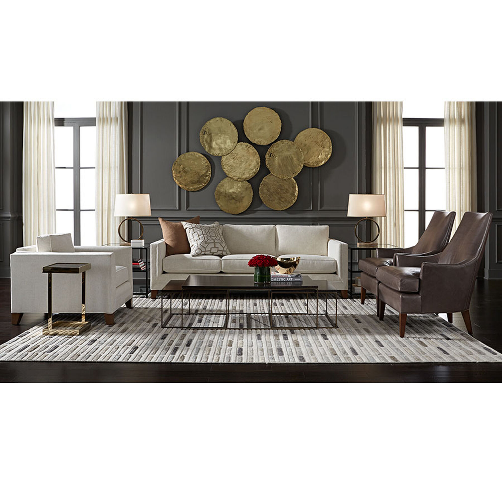 Symmetry Furniture symmetry rug