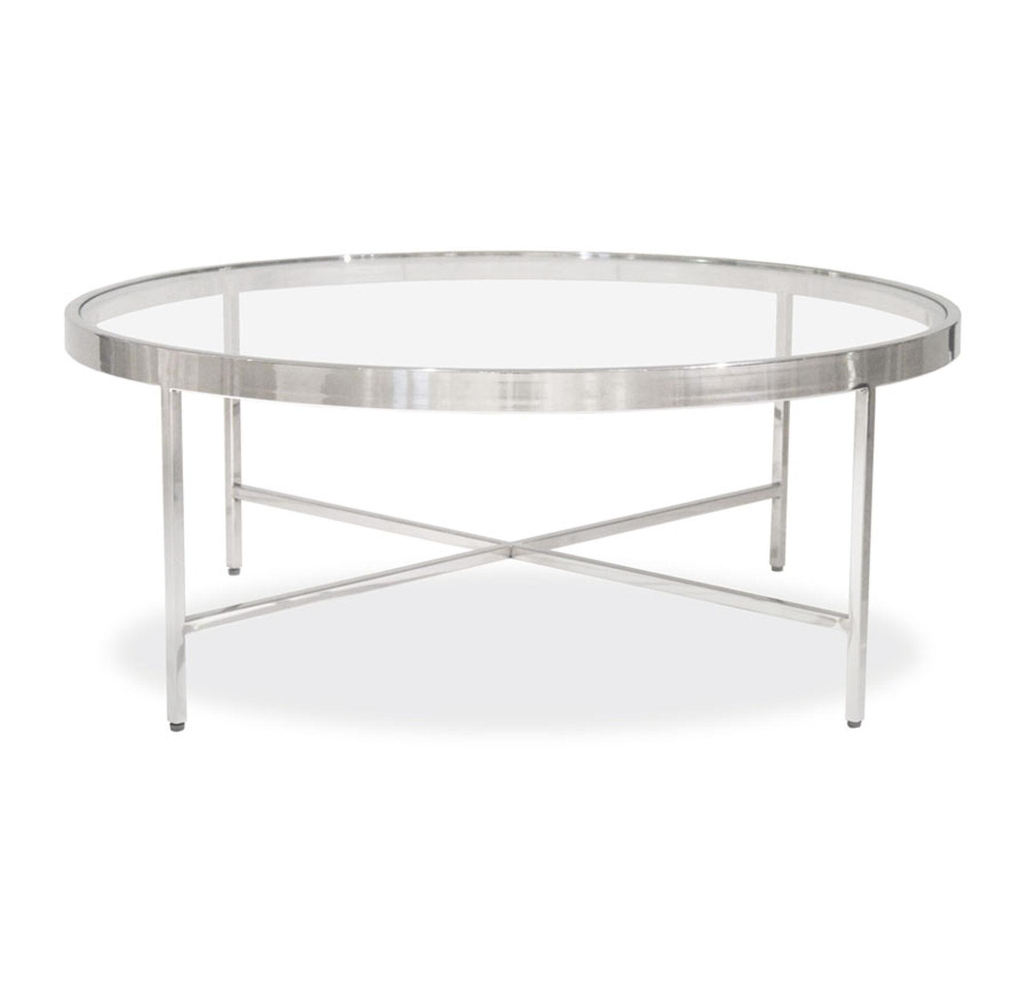 VIENNA ROUND COCKTAIL TABLE