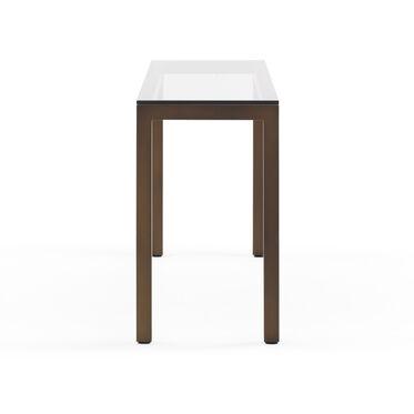 CLASSIC PARSONS CONSOLE TABLE - VINTAGE BRASS, , hi-res