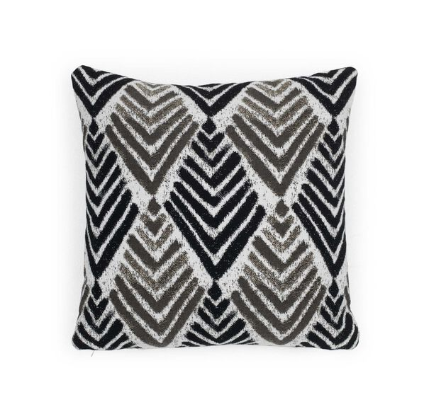"SUNBREALLA 17"" X 17"" ACCENT PILLOW, SEIGO - NEUTRAL, hi-res"