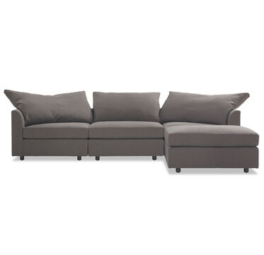 BIG EASY SECTIONAL SOFA, LINGO - CHARCOAL, hi-res