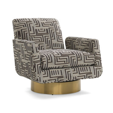 SUPERNOVA RETURN SWIVEL CHAIR, CRETE - MIDNIGHT, hi-res
