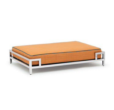 LARGE DOG BED, DRIFT - ORANGE, hi-res