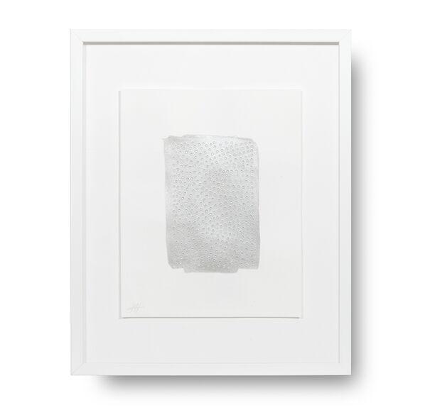 SILVER ARRAY DOT STORY WALL ART, , hi-res
