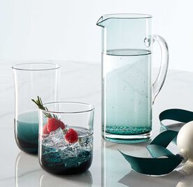 COLORBLOCK GLASSWARE GIFT SET, , hi-res