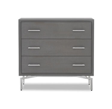 MING 3 DRAWER CHEST - GRAY, , hi-res