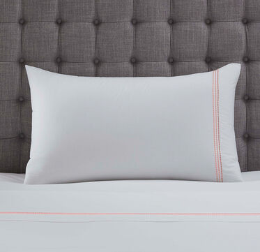 PEARL STITCH KING SHAM - PLAIN, , hi-res