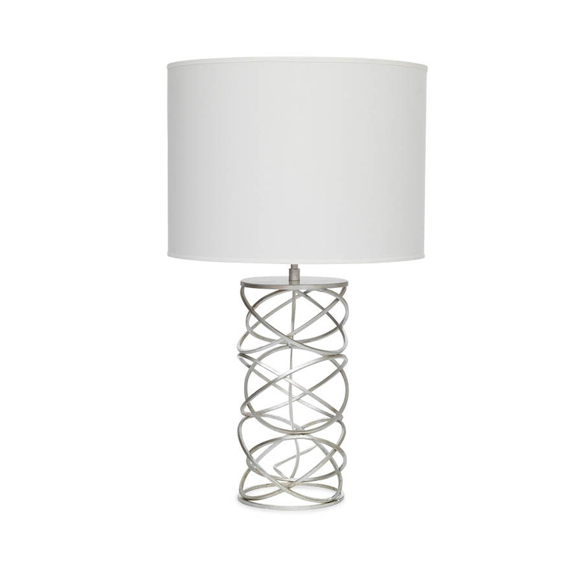 Rubix lily white table lamp della table lamp hi res geotapseo Images