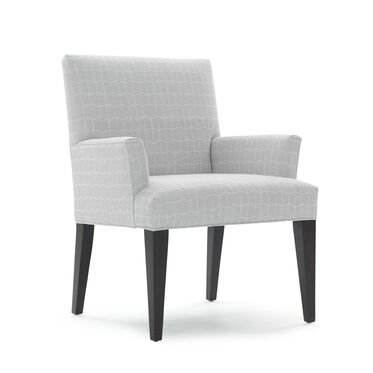 ANTHONY ARM DINING CHAIR, HADLEY - SILVER, hi-res