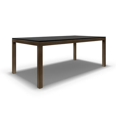 CLASSIC PARSON DINING TABLE - VINTAGE BRASS, , hi-res