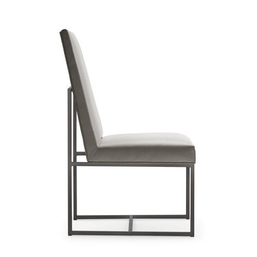 GAGE TALL DINING CHAIR - PEWTER, KOKO - STEEL, hi-res