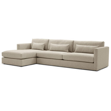 HAYWOOD LEFT SECTIONAL, SOL - OATMEAL, hi-res