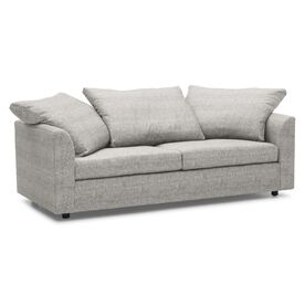 BIG EASY SOFA, Sunbrella Performance Textured Two-Tone Linen - SILVER                             , hi-res