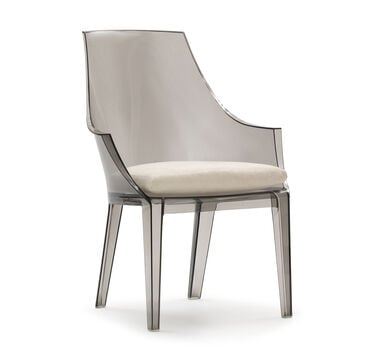 CLAIR SMOKE DINING CHAIR W/ CUSHION, , hi-res