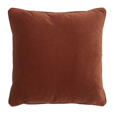 21 IN. SQUARE THROW PILLOW, BOULEVARD - SIENNA, hi-res
