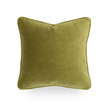 17 IN. SQUARE THROW PILLOW, VIVID - LIME, hi-res