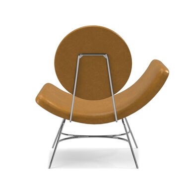 ELROY LEATHER LEFT ARM CHAIR, MONT BLANC - FAWN, hi-res