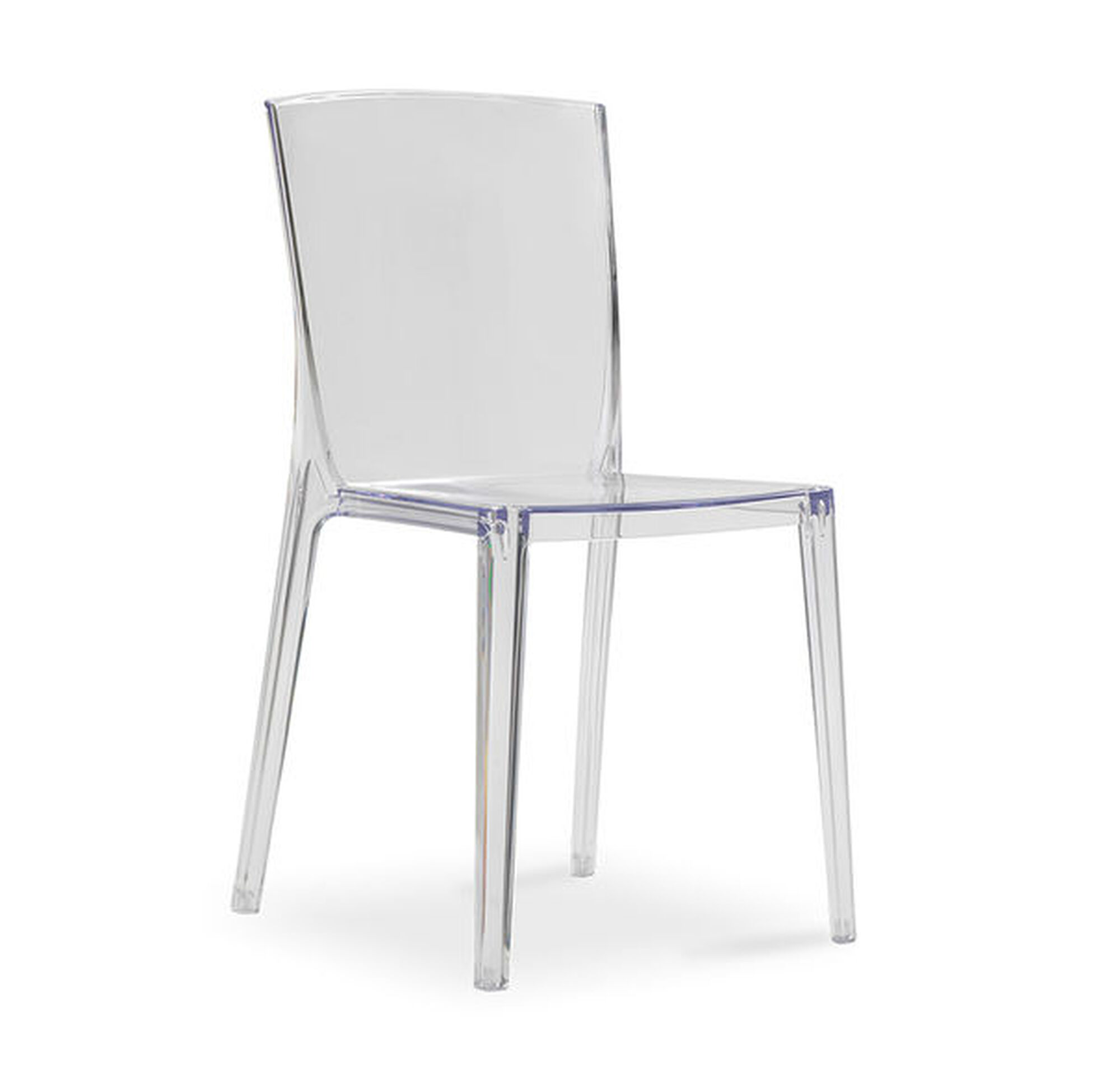 ALAIN CLEAR SIDE DINING CHAIR