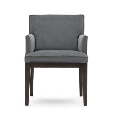 CAMERON ARM DINING CHAIR, PIPPIN - CHARCOAL, hi-res