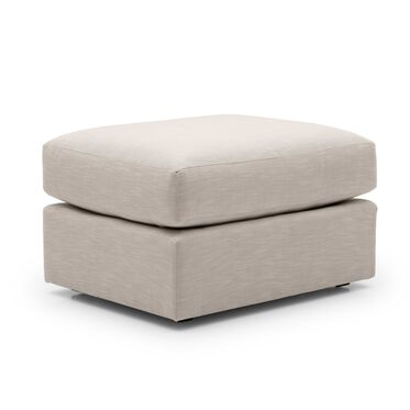 HAYWOOD OTTOMAN, SOL - PEWTER, hi-res