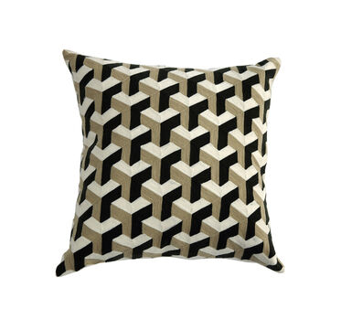 GRAPHIC THROW PILLOW, , hi-res